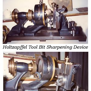 Holtzapffel Tool Sharpening Device
