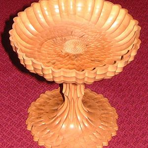 boxwood tazza roseturned