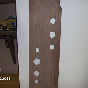 Sound board holes