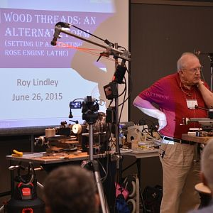 Rotation 3 - Roy Lindley - Threading on the Lathe