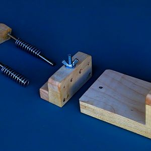 Jig assembly, parts shown
