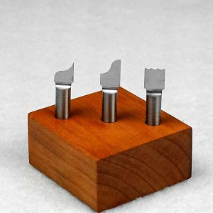 ogee & tripple bead fly cutters